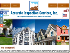 Accurate Inspection Services website history
