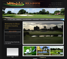 Boca Greens Country Club website history