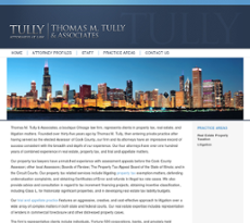 Thomas M. Tully & Associates website history