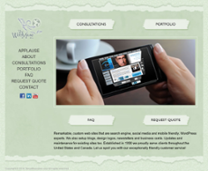 The Web Muse & Co website history