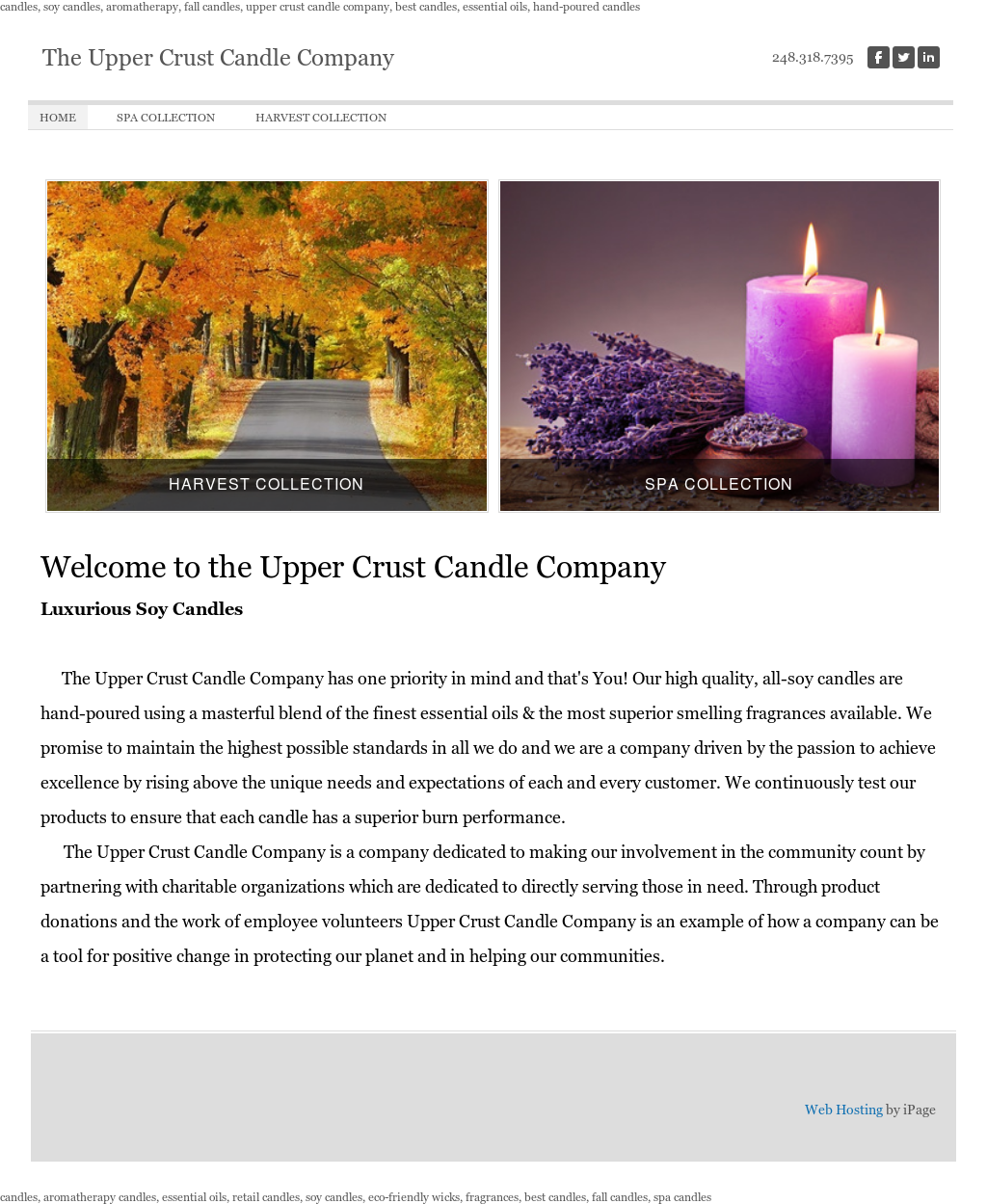 Upper Crust Candle Company Competitors, Revenue and