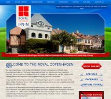 Royal Copenhagen Inn website history