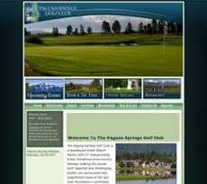 Pagosa Springs Golf Club website history