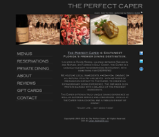 The Perfect Caper website history