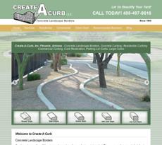 Create A Curb website history