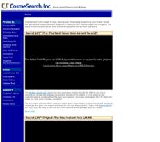 CosmeSearch website history
