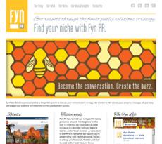 Fyn Public Relations website history