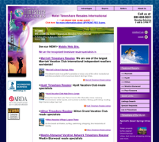 Hotel Timeshare Resales website history