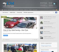 C & M Auto Service website history