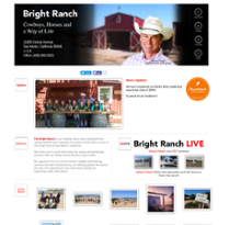 Bright Ranch website history