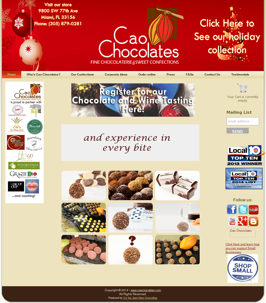 Cao Chocolates Competitors, Revenue and Employees - Owler