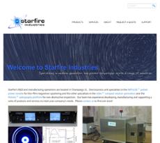 Starfire's website history