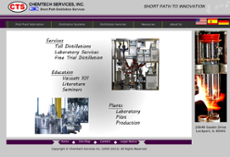 Chemtech Services website history