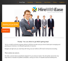 Hire With Ease website history