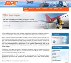 PAS Cargo USA website history
