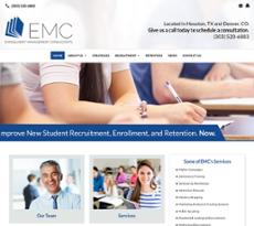 Enrollment Management Consultants website history