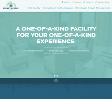 Survey Center Focus website history