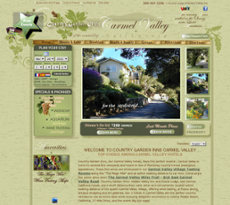 Country Garden Inns website history