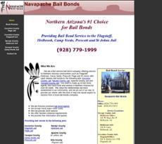 Navapache Bail Bonds website history