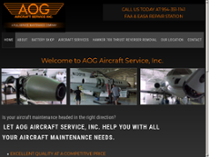 Aog Aircraft Services website history