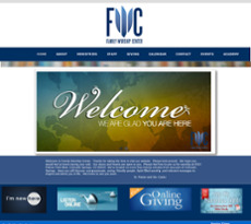 Family Worship Center website history