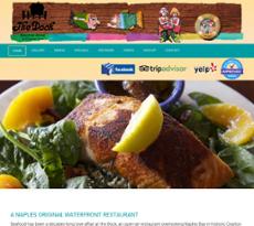 The Dock Restaurant website history