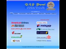 V.I.P Travel website history