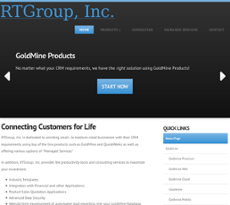 RT Group website history