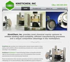 Kinetichem website history
