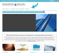 Innovation Pavilion website history