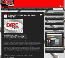Coresigns website history
