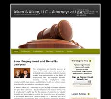 Aiken & Aiken website history