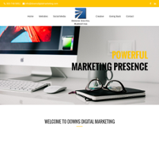 Downs Marketing Associates website history