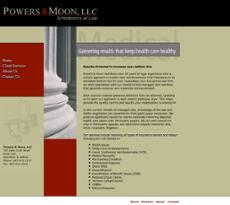 Power&Moon website history
