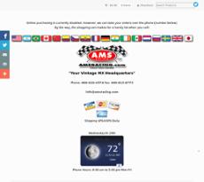 AMS Racing website history