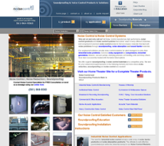 All Noise Control website history