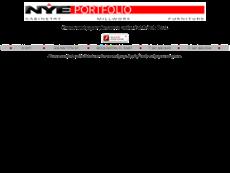 Nye Portfolio website history