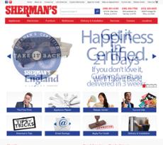 Sherman's website history
