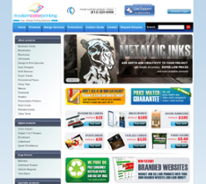 Modern Color Printing website history