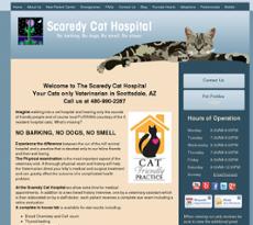 Scaredy Cats Hospital website history