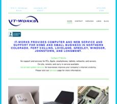 IT-Works website history