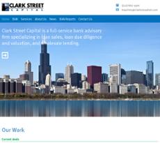Clark Street Capital website history