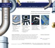 Custom Tube Products website history