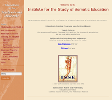 Institute for the Study of Somatic Education website history
