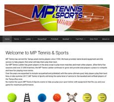 M P Tennis website history