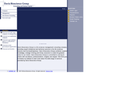 Davis Bioscience Group website history