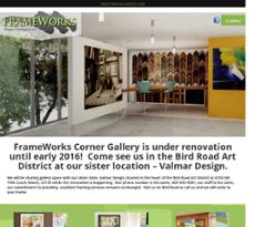 FrameWorks website history