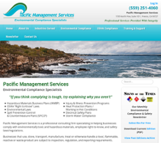Pacific Management Services website history