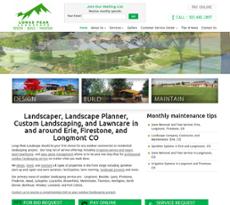 Longs Peak Landscape website history