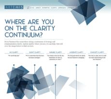 Artemis Consulting website history